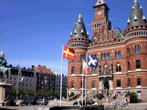 Skåneländska flaggan