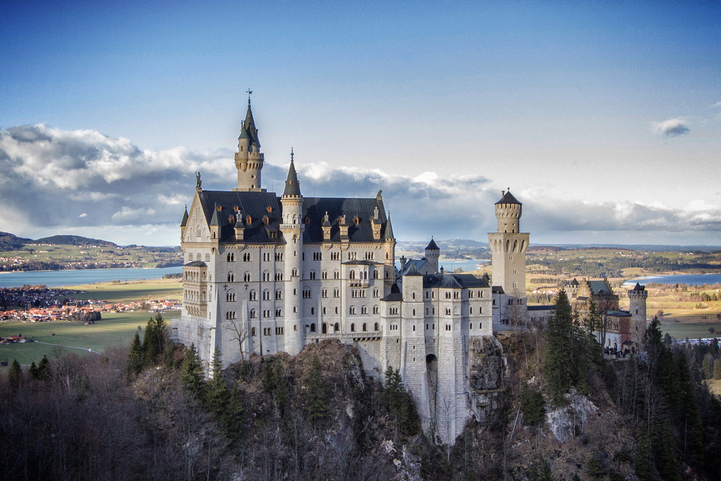 Neuschwanstein Castle photo by robef, Flickr