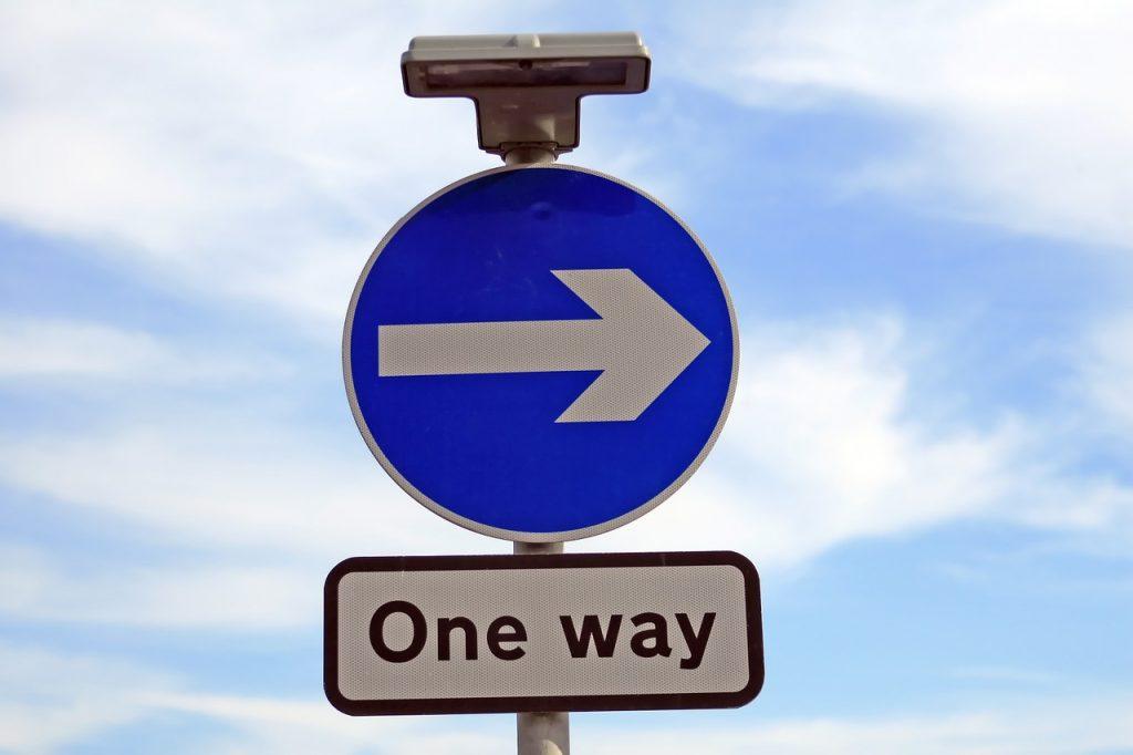 """Den """"rätta"""" vägen."""
